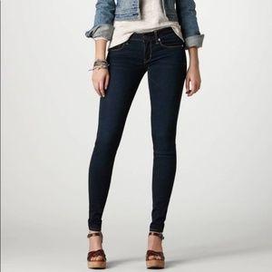 American Eagle Skinny Dark Washed Jeans
